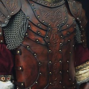 Vendel Wolf LARP Leather Body – No Shoulders