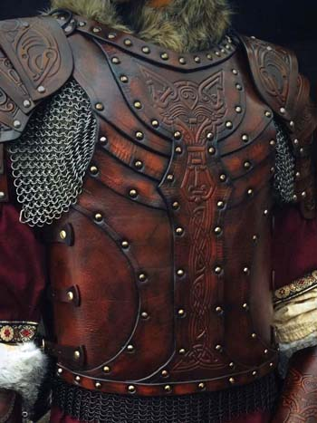 Vendel LARP and SCA Leather Armour