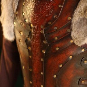 Vendel Raven LARP Leather Body – No Shoulders