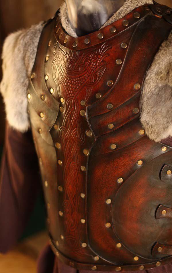 Vendel Raven LARP Leather Body