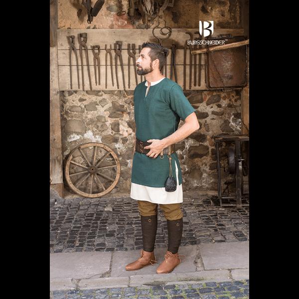 Middle Ages Shirt Aegir Green 2