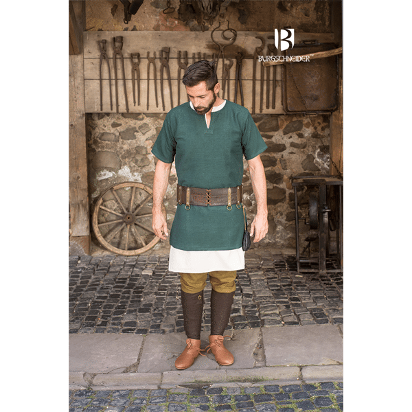 Middle Ages Shirt Aegir Green 3