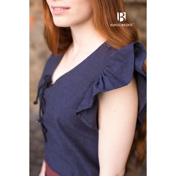 dress agga with apron blue 3