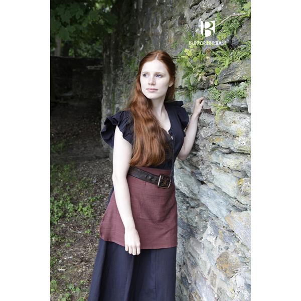 dress agga with apron black 1