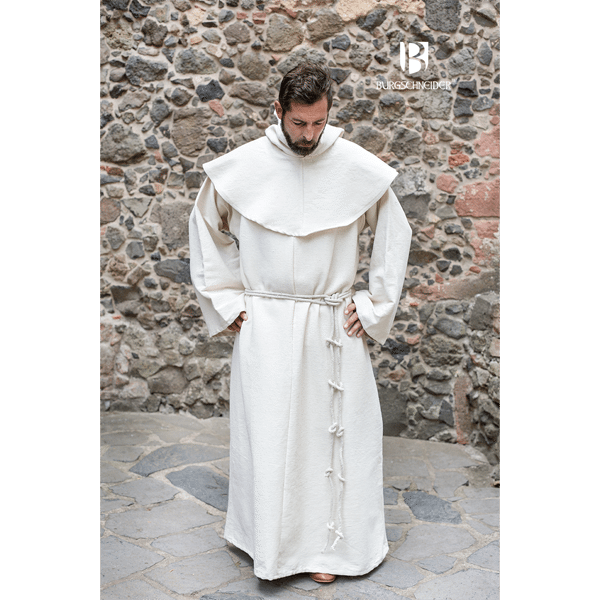 Benedictine Monks Robes Natural 2