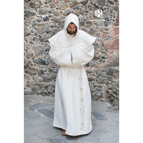 Benedictine Monks Robes Natural 1