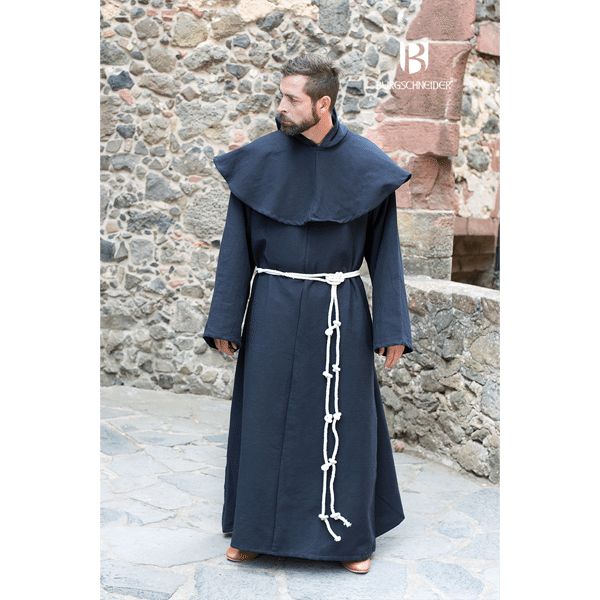 Benedictine Monks Robes Black 2