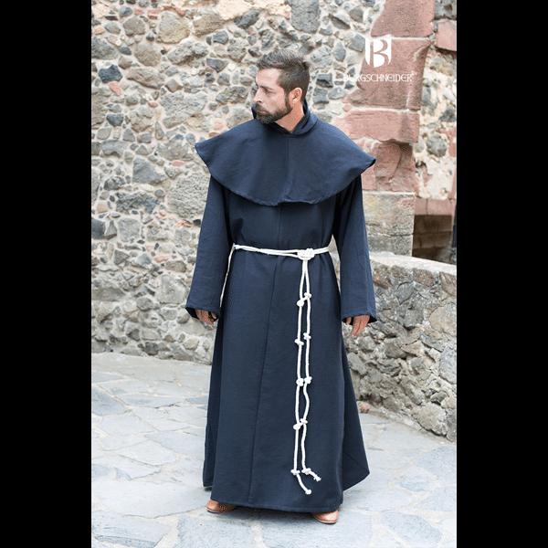 Benedictine Monks Robes Black 2