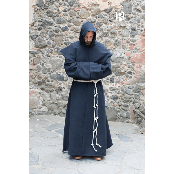 Benedictine Monks Robes Black 1