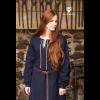 Medieval Dress Cilie Dark Blue 3