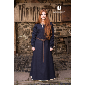 Medieval Dress Cilie Dark Blue 1