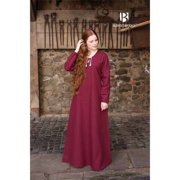 Medieval Dress Cilie Red 2