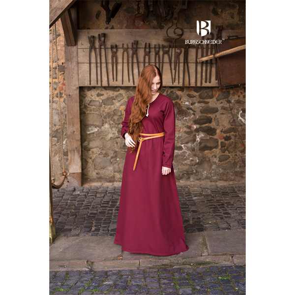 Medieval Dress Cilie Red 3