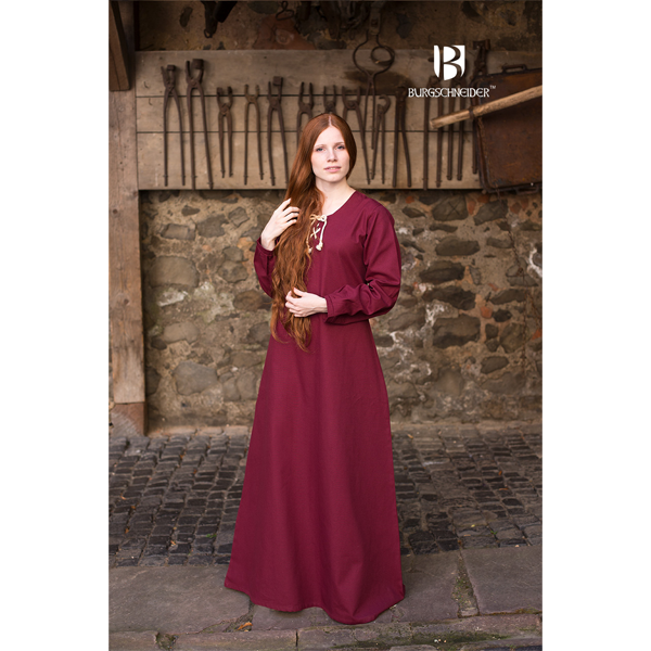Medieval Dress Cilie Red 1
