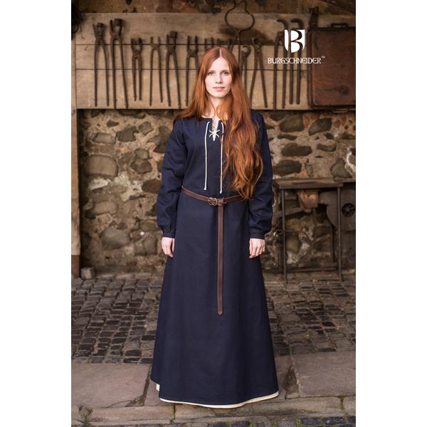 Medieval Dress Cilie Dark Blue 1