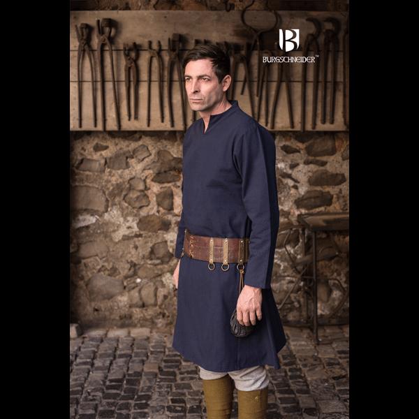 Medieval Tunic Ekwin Blue 3