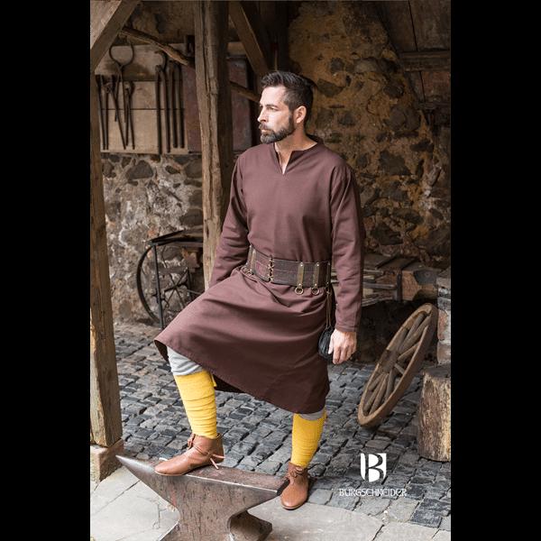 Medieval Tunic Ekwin Brown 1