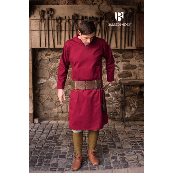Medieval Tunic Ekwin Red 3