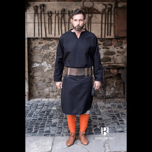 Medieval Tunic Ekwin Black 1