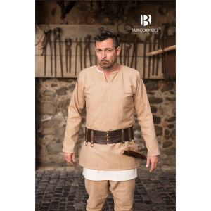 Short Men's Medieval Tunic Erik – Ideal For LARP, SCA and Costume