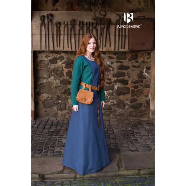 Medieval Underdress Feme Green 2