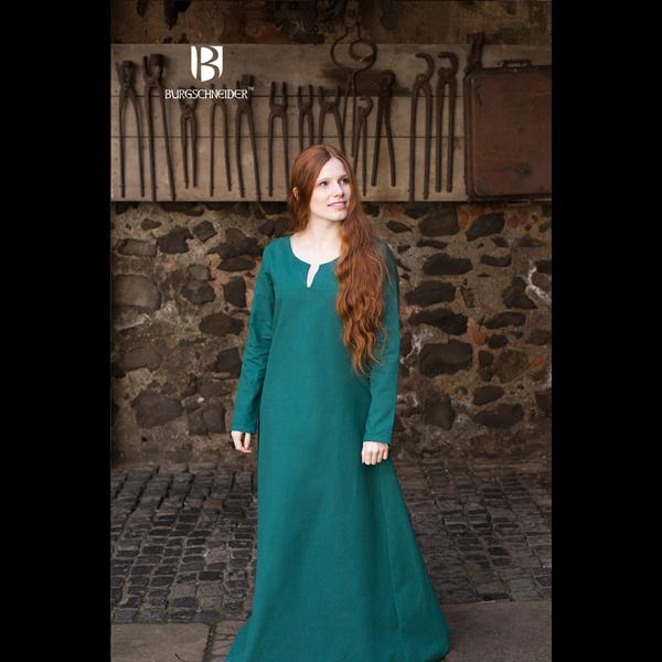 Medieval Underdress Feme Green 1