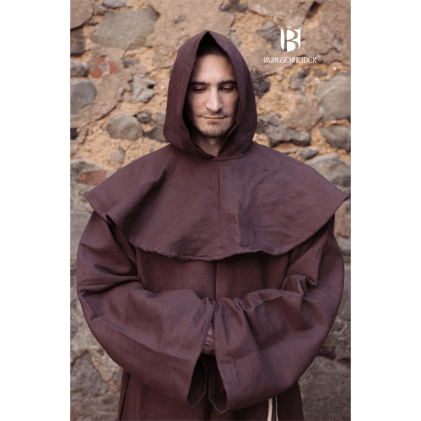 Franciscan friars robes brown 2