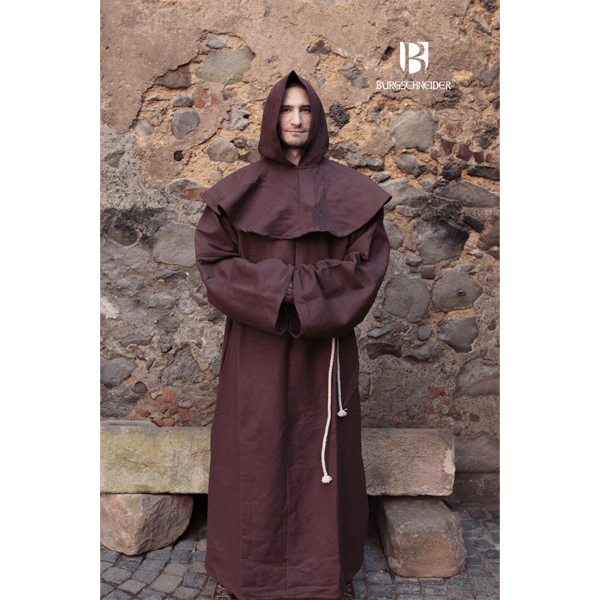 Franciscan friars robes brown 1