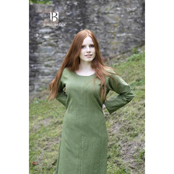 Viking Underdress Freya Linden Green 1