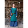Viking Underdress Freya Woad Blue 3