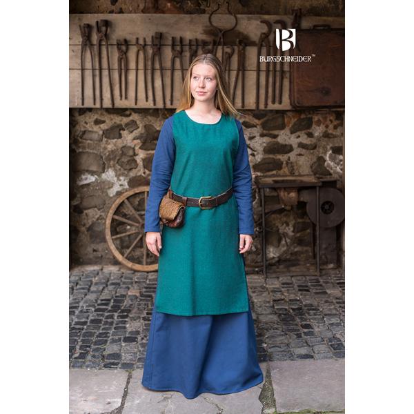 Viking Underdress Freya Woad Blue 3