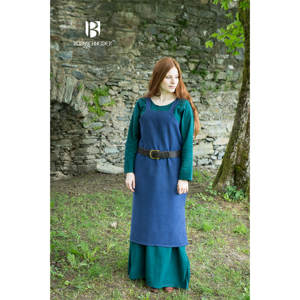 Viking Dress Frida Blue 2