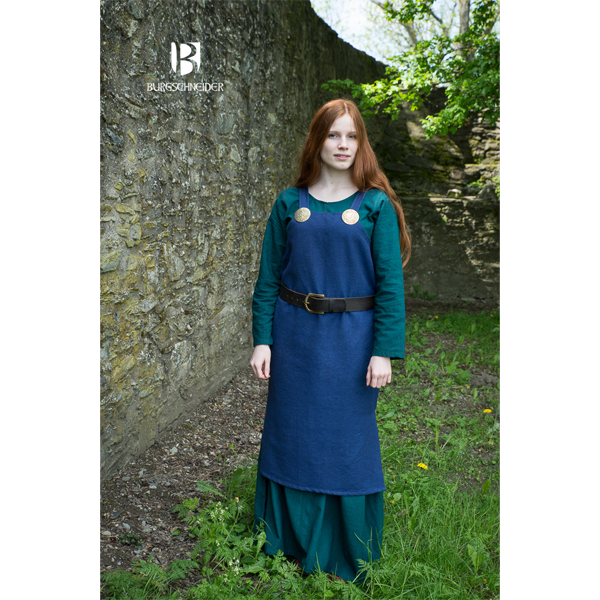 Viking Dress Frida Blue 3