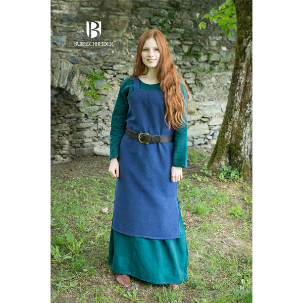 Viking Dress Frida Blue 1
