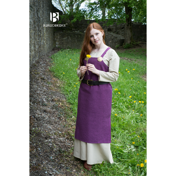 Viking Dress Frida Lilac 2