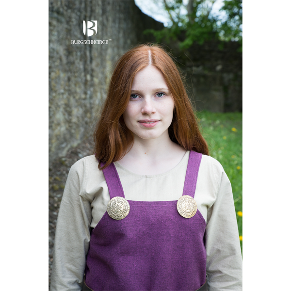Viking Dress Frida Lilac 4