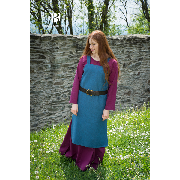 Viking Dress Frida Ocean Blue 2