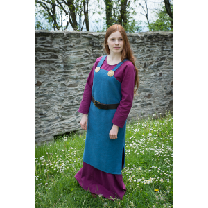 Viking Dress Frida Ocean Blue 3
