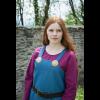 Viking Dress Frida Ocean Blue 1