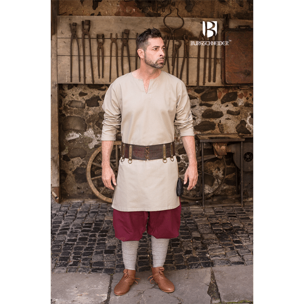 Medieval Undertunic Leif Hemp 2