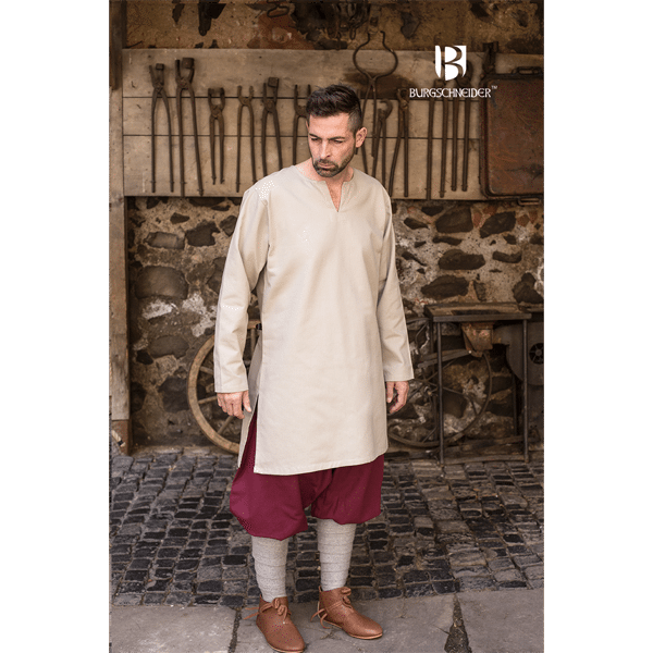 Medieval Undertunic Leif Hemp 1