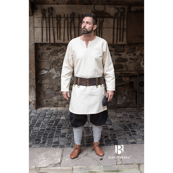 Medieval Undertunic Leif Natural 2