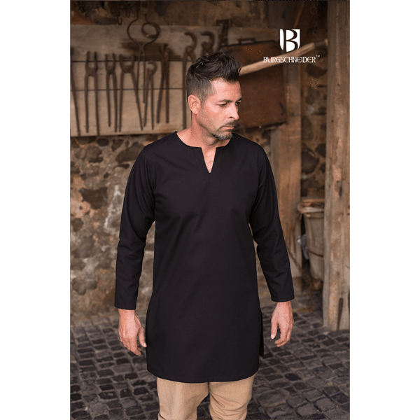Medieval Undertunic Leif Black 3