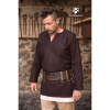 Medieval Wool Tunic Lodin Brown 2