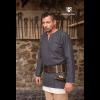 Medieval Wool Tunic Lodin Dark Grey 1