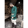 Medieval Wool Tunic Lodin Green 3