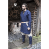 Viking Wool Coat Loki Blue 3