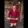 Viking Wool Coat Loki Red 1