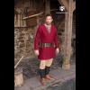 Viking Wool Coat Loki Red 2