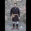 Viking Wool Coat Loki Brown 1